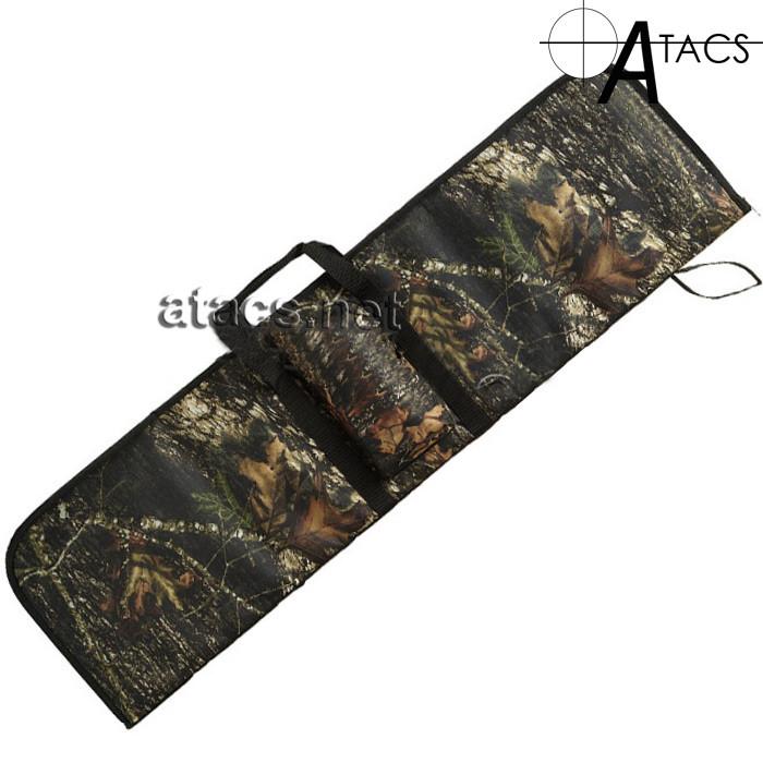 Чехол для помпового ружья 110 см, лесной камуфляж
