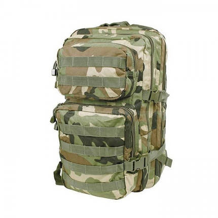 Штурмовой рюкзак 36л система Molle MilTec Assault камуфляж Woodland 14002220, фото 2