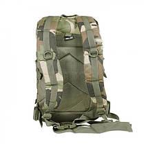 Штурмовой рюкзак 36л система Molle MilTec Assault камуфляж Woodland 14002220, фото 3