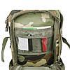 Штурмовой рюкзак 36л система Molle MilTec Assault камуфляж Woodland 14002220, фото 5