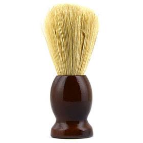 Помазок для гоління з дерева SHIMA з ворсом кабана Коричневий 01588