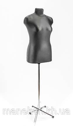 Марина (44) в ткани (черный) для треноги, фото 2