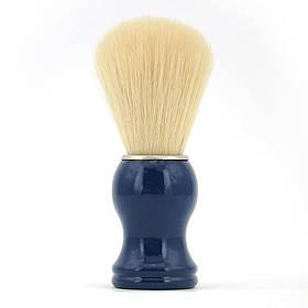 Помазок для гоління з дерева SHIMA з ворсом кабана Синій 01587
