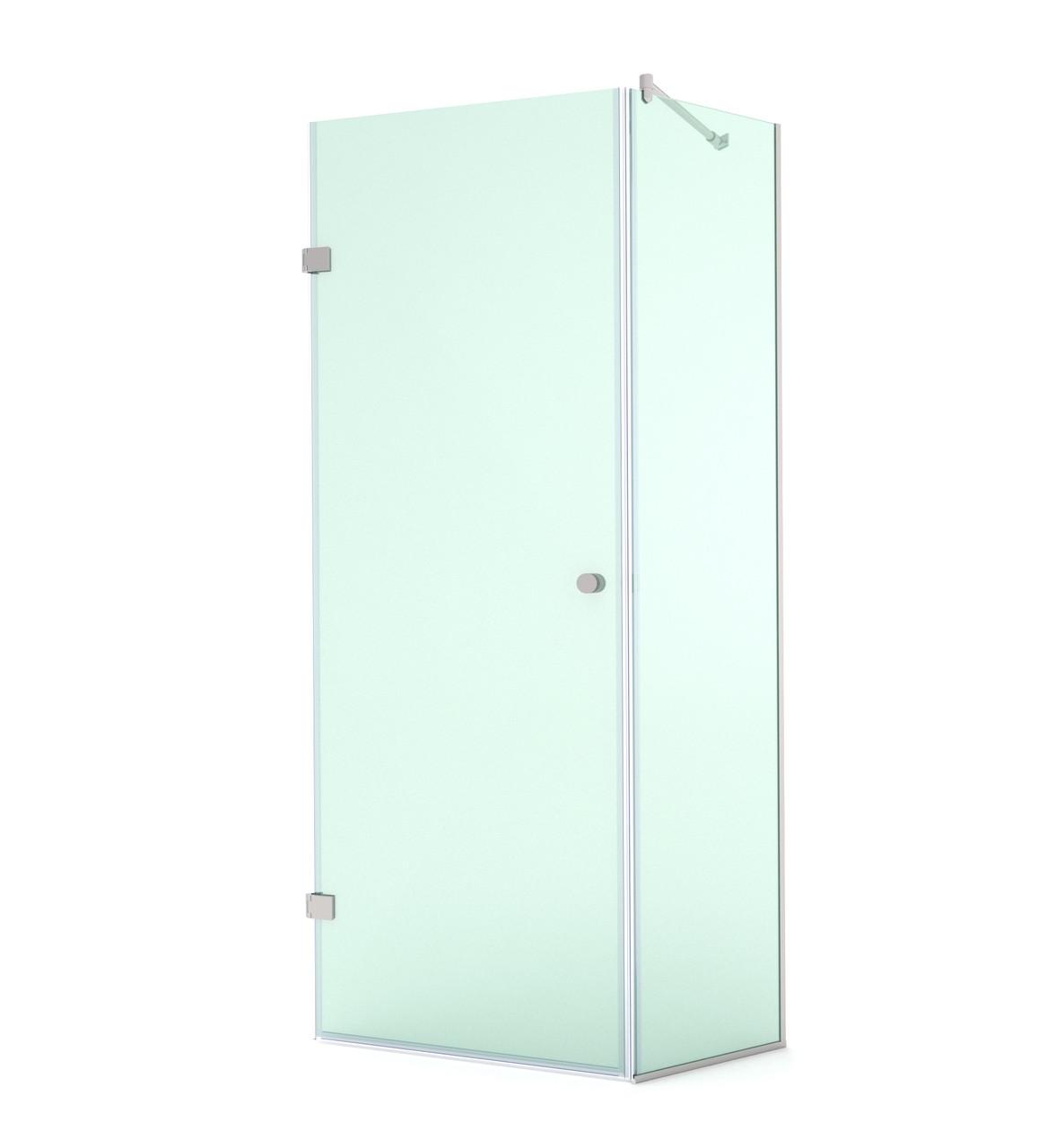 Распашная душевая дверь в нишу, модели SD-02-07
