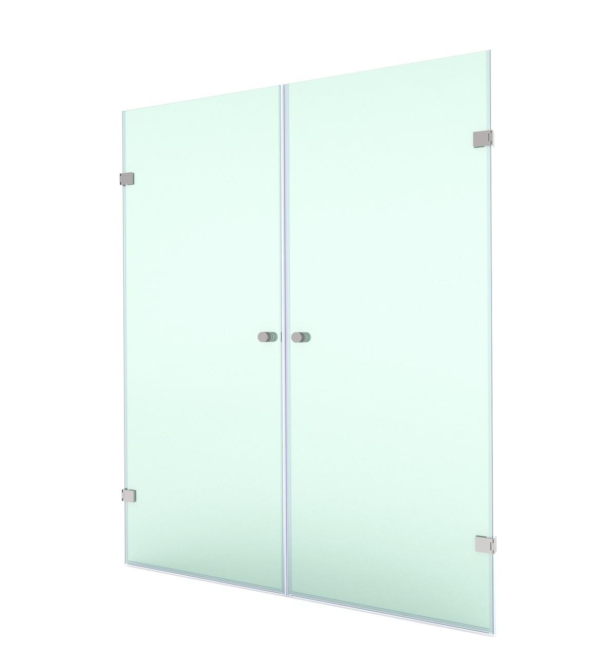Распашная душевая дверь в нишу, модели SD-02-08