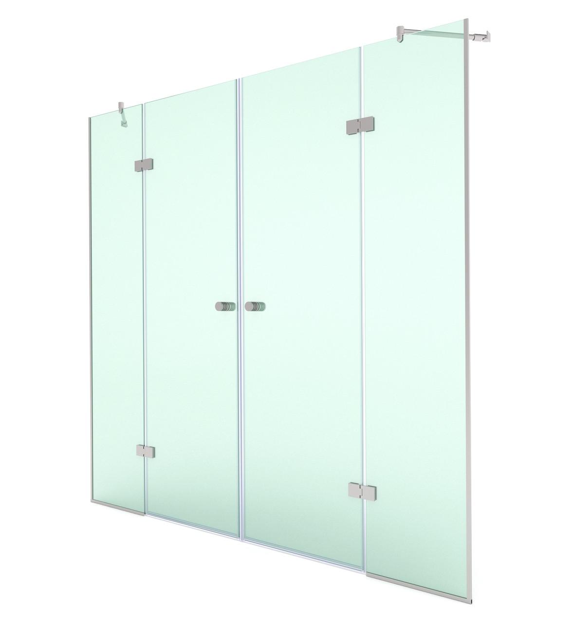 Стеклянные двери для душевой, модели SD-02-13