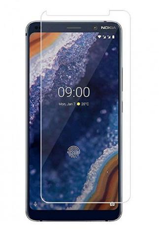 Гидрогелевая защитная пленка на Nokia 9 PureView на весь экран прозрачная