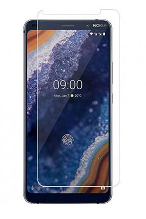 Гидрогелевая защитная пленка на Nokia 9 PureView на весь экран прозрачная, фото 2