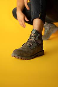 Ботинки мужские Тimberland, Military Brown