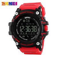 Skmei 1227 Smart красные мужские спортивные смарт часы