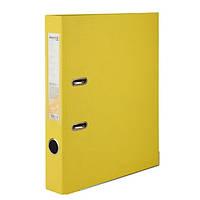 """Папка-регистратор (сегрегатор) """"Axent Delta"""" D1713-08C, односторонняя, формат A4, толщина 50 мм, желтая"""
