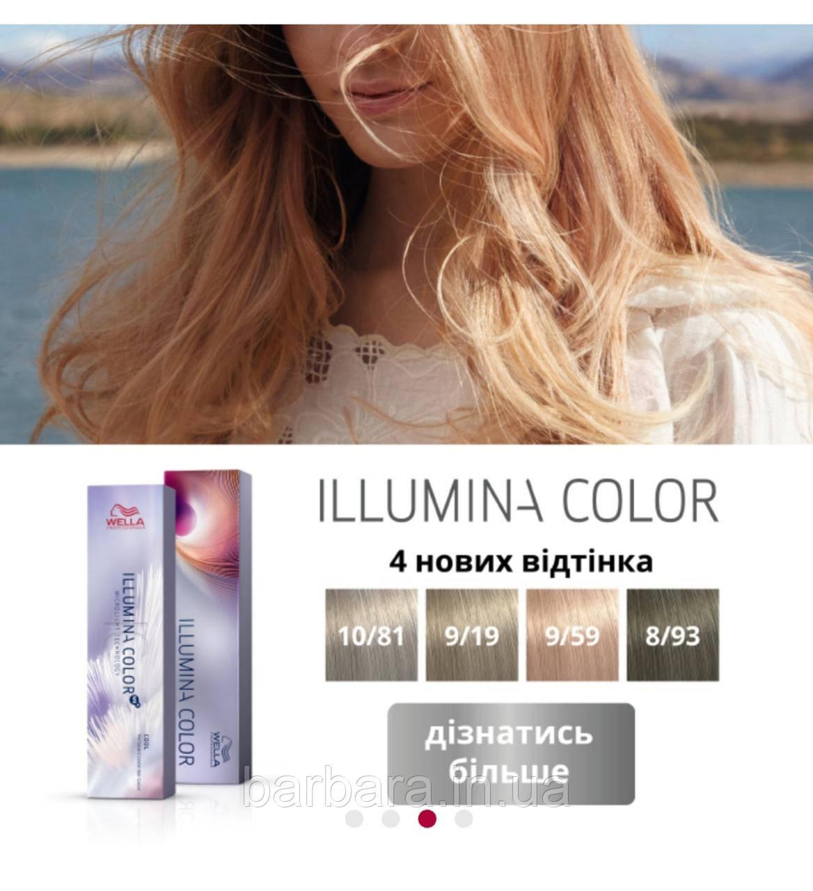 Фарба для волосся Wella Illumina Color Ме+ 2020