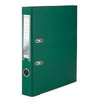"""Папка-регистратор (сегрегатор) """"Axent Delta"""" D1713-23C, односторонняя, формат A4, толщина 50 мм, темно-зеленая"""