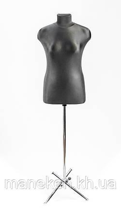 Марина (48) в ткани (черный) для треноги, фото 2