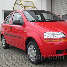 Молдинги на двері для Сhevrolet Aveo T200 седан 2002-2008