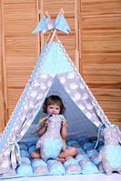 Вигвам, детская игровая палатка, шатёр Ноченька (Индивидуальный набор), фото 1
