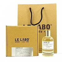 Парфюмерная вода унисекс Le Labo Santal 33