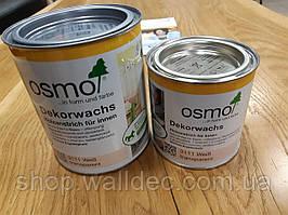 Масло краска OSMO DECKORWACHS Transparent 3111  0,375л (белое)