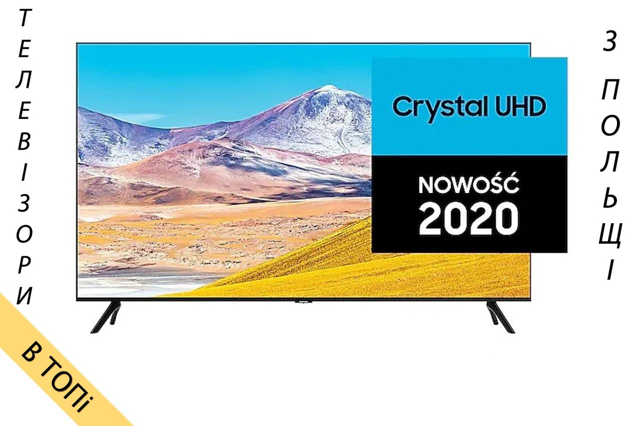 Телевизор SAMSUNG UE43TU8002 Smart TV Ultra HD/4K 2100Hz T2 из Польши