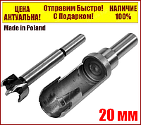 Сверло фреза пробочник YATO 20 мм 110/90 мм 2 шт YT-33831, фото 1