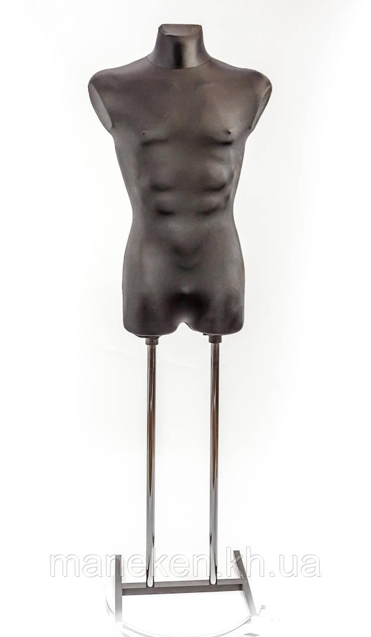 Давид в ткани (черный) к подставке