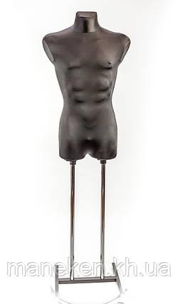 Давид в ткани (черный) к подставке, фото 2