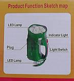Ліхтар переносний акумуляторний 2809, фото 2