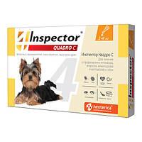 Инспектор Quadro С (Inspector) капли для собак,1 пипетка, фото 1