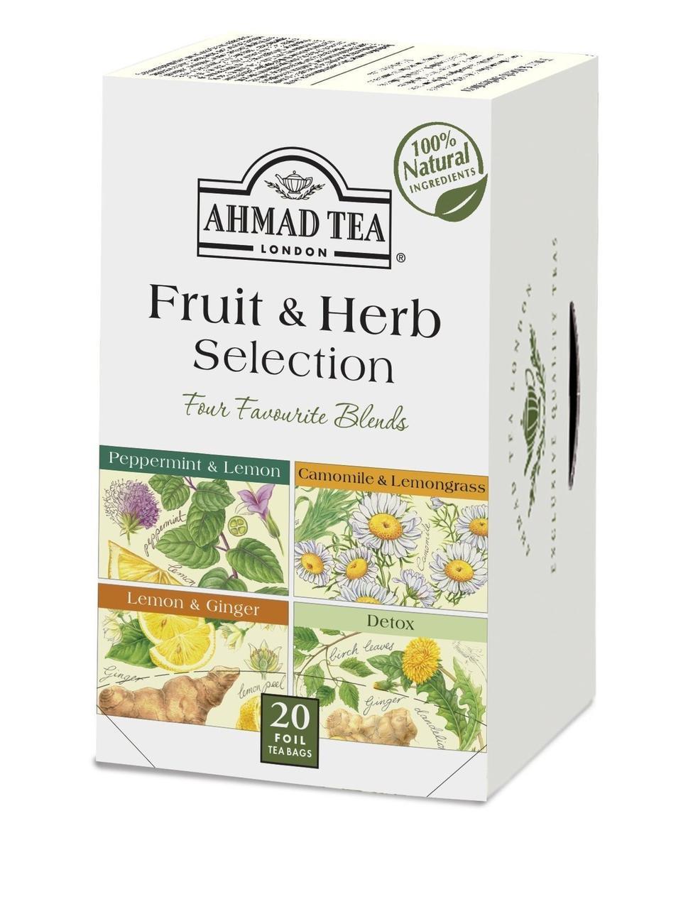 Чай Ahmad 4 вкуса 20 пакетиков