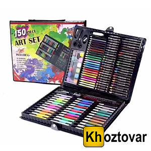 Набір для дитячої творчості у валізі | 150 предметів