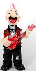 Панк - рокер с гитарой. Уценка