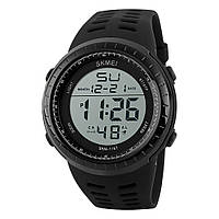 Skmei 1167 Tactic Черные мужские  спортивные часы, фото 1