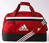 Спортивно-дорожная удобная средняя сумка 64 л. Adidas TIRO TB BC M S13307 красный