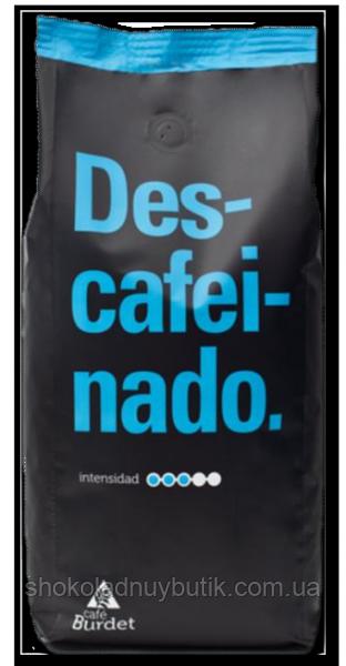 Кофе  в зернах Burdet Descafeinado 500г