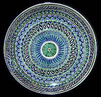 Ляган. Узбекская керамика. d 55 см.