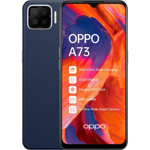 Смартфон OPPO A73 4/128GB Navy Blue UA