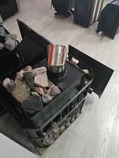 """Печь в баню """"Пруток"""" с выносной топкой увеличенная 35 м³, фото 2"""