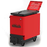 Котел твердотопливный Ретра-6М Red 16 кВт шахтный длительного горения