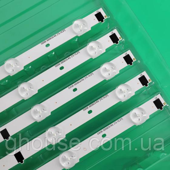 LED підсвічування Samsung UE32F6400AK підсвічування D2GE-320SC0