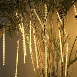 Гирлянда LED светодиодная «Тающие сосульки» теплый белый цвет