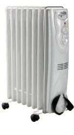 Масляный радиатор 0715 Термия 1,5 КВт, 7 секций.