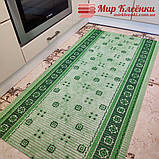 Коврик ширина 65 см на метраж для Ванной Туалета Кухни Коридор Дорожка Зелёная дорожка Аквамат, фото 2