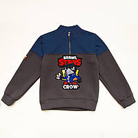 Свитшот детский теплый для мальчика Brawl Crown