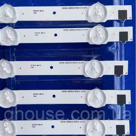 LED подсветка Samsung UE32F5020 подсветка D2GE-320SC0