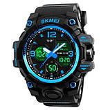Skmei Мужские спортивные кварцевые часы Skmei Hamlet Blue 1155B, фото 2