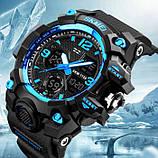 Skmei Мужские спортивные кварцевые часы Skmei Hamlet Blue 1155B, фото 3