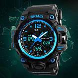 Skmei Мужские спортивные кварцевые часы Skmei Hamlet Blue 1155B, фото 4