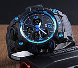 Skmei Мужские спортивные кварцевые часы Skmei Hamlet Blue 1155B, фото 5