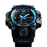 Skmei Мужские спортивные кварцевые часы Skmei Hamlet Blue 1155B, фото 6