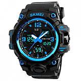 Skmei Мужские спортивные кварцевые часы Skmei Hamlet Blue 1155B, фото 8
